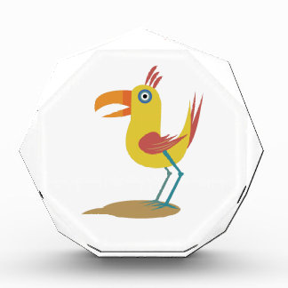 Cartoon Bird Acrylic Award
