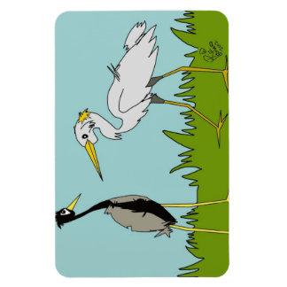 Cartoon Birds Magnet