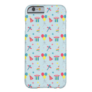 Cartoon birthday elements iphone barely there iPhone 6 case