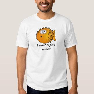 Cartoon blowfish t shirts. shirt