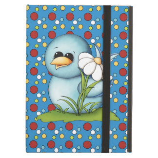 Cartoon Blue Bird iPad Air Powis case iPad Air Cover