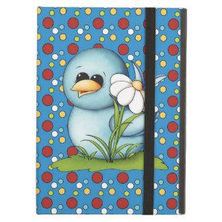 Cartoon Blue Bird iPad Air Powis case Cover For iPad Air