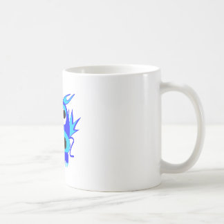 Cartoon Blue Dragon Coffee Mugs