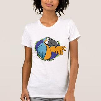 Cartoon Blue & Gold Macaw Shirts