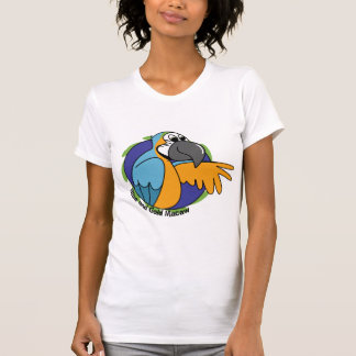Cartoon Blue & Gold Macaw Shirts