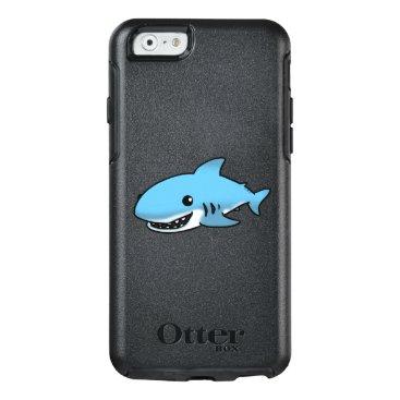 Beach Themed cartoon blue shark OtterBox iPhone 6/6s case