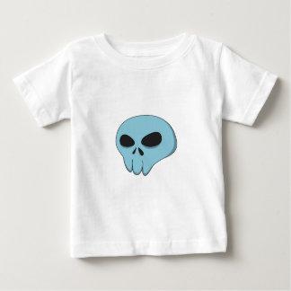 cartoon blue skull baby T-Shirt