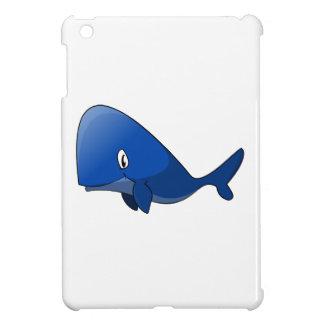 Cartoon Blue Whale iPad Mini Cover