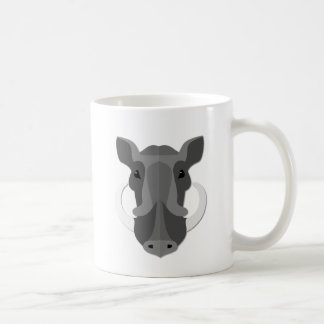 Cartoon Boar Head Coffee Mug