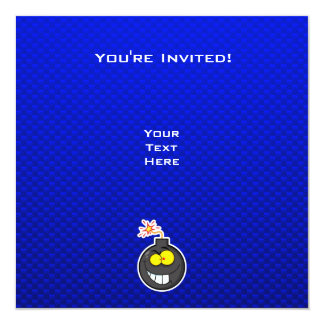 Cartoon Bomb; Blue Card