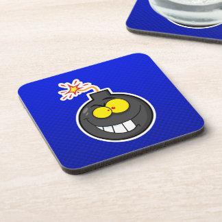 Cartoon Bomb; Blue Coaster
