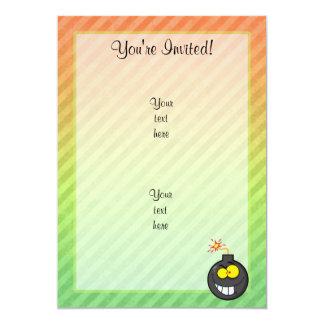 Cartoon Bomb design Card