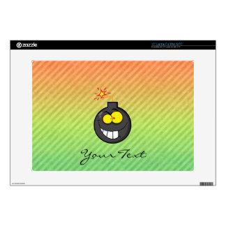 "Cartoon Bomb design Skins For 15"" Laptops"