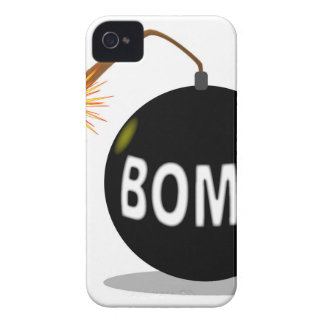 Cartoon Bomb iPhone 4 Cover