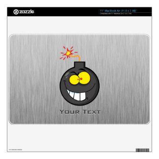 Cartoon Bomb; Metal-look Skin For The MacBook Air