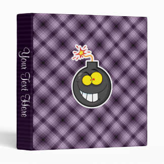 Cartoon Bomb; Purple Binder