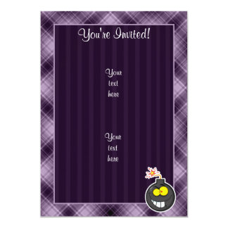 Cartoon Bomb; Purple Card