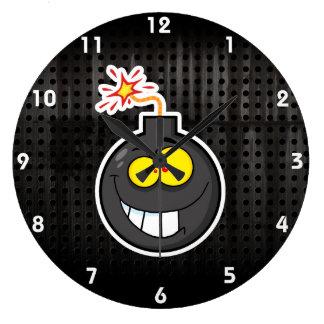 Cartoon Bomb; Rugged Wall Clocks
