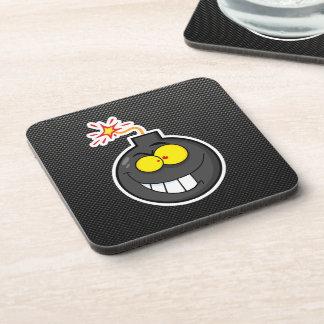 Cartoon Bomb; Sleek Coaster