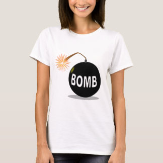 Cartoon Bomb T-Shirt