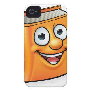 Cartoon Book Character Mascot iPhone 4 Case