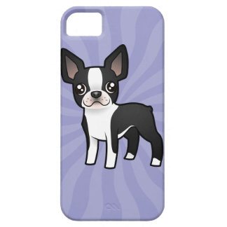 Cartoon Boston Terrier iPhone SE/5/5s Case