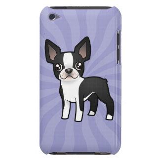 Cartoon Boston Terrier iPod Touch Case
