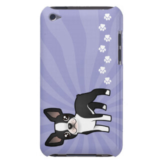 Cartoon Boston Terrier iPod Touch Cover