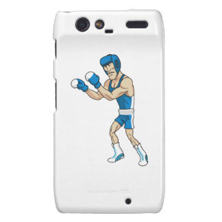 cartoon boxer motorola droid RAZR case