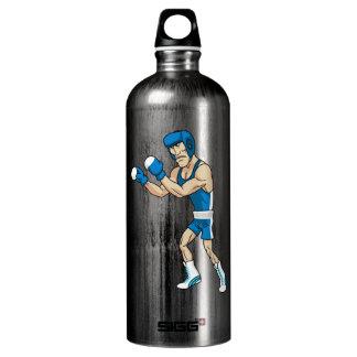 cartoon boxer water bottle