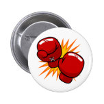 Cartoon Boxing Gloves Buttons