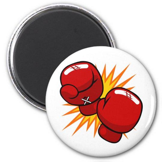 Cartoon Boxing Gloves Magnet