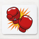 Cartoon Boxing Gloves Mouse Pads