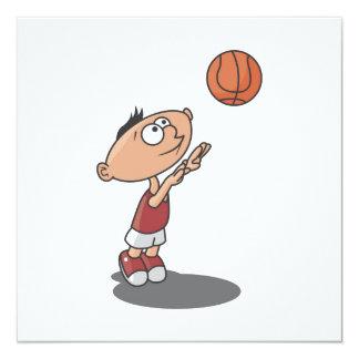 Cartoon Boy Basketball Player T-shirts and Gifts Card