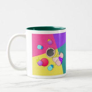 Cartoon Boy Bowler Mug