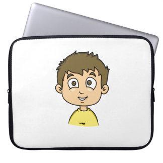 Cartoon Boy Computer Sleeve