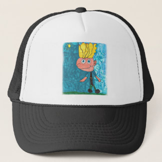 Cartoon Boy - Timmy Trucker Hat