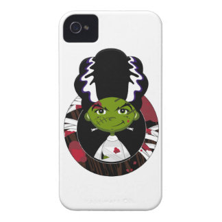 Cartoon Bride of Frankenstein Case-Mate iPhone 4 Case
