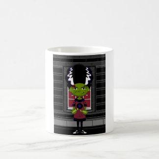 Cartoon Bride of Frankenstein Coffee Mug
