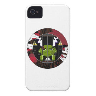 Cartoon Bride of Frankenstein iPhone 4 Case