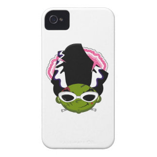 Cartoon Bride of Frankenstein iPhone 4 Case-Mate Case