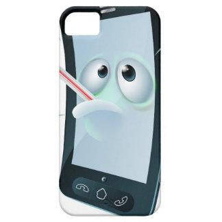 Cartoon broken mobile phone iPhone 5 cover