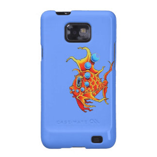 Cartoon Bubblefish Samsung Galaxy S Case Samsung Galaxy SII Cover
