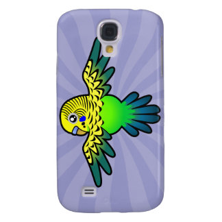 Cartoon Budgie Galaxy S4 Cover
