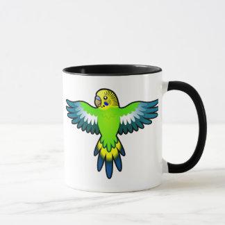 Cartoon Budgie / Parakeet Mug