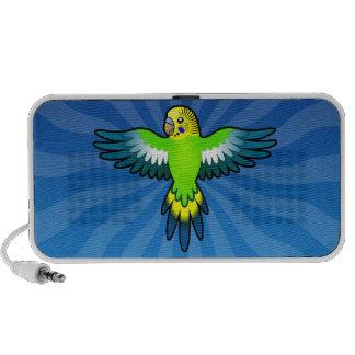 Cartoon Budgie / Parakeet Mp3 Speakers
