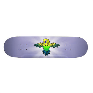 Cartoon Budgie Skateboards