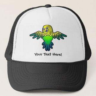 Cartoon Budgie Trucker Hat
