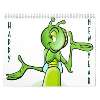 CARTOON BUG CALENDAR