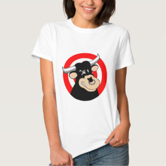 Cartoon Bull BullsEYE T-shirt